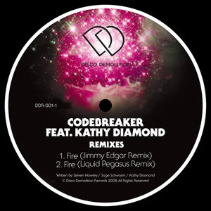 Image for 'Fire (feat. Kathy Diamond) Remixes'