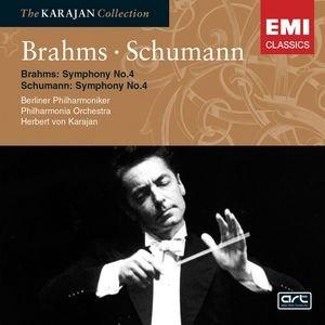Immagine per 'Brahms: Symphony No 4; Schumann: Symphony No 4'