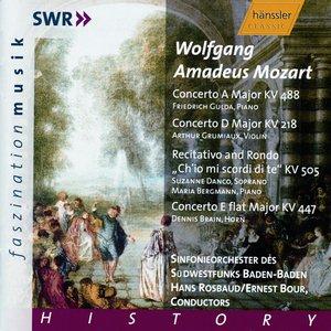 Image for 'Mozart: Piano Concerto No. 23 / Violin Concerto No. 4 / Horn Concerto No. 3'