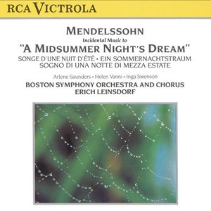 "Image for 'Incidental Music to ""A Midsummer Night`s Dream""'"
