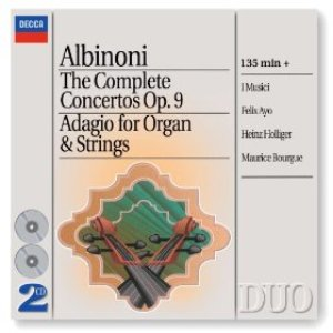 Image for 'Albinoni: The Complete Concertos/Adagio for Organ & Strings'