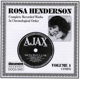 Image for 'Rosa Henderson Vol. 1 (1923)'