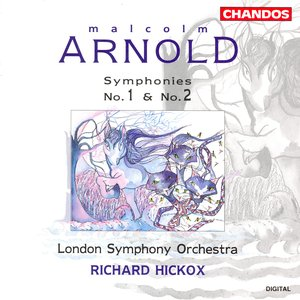 Image for 'Arnold, M.: Symphonies Nos. 1 and 2'