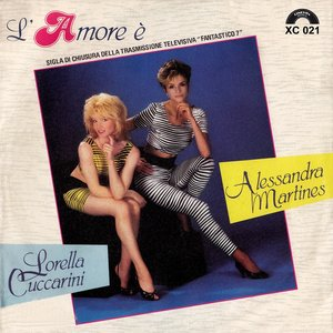 Image for 'L'amore e' (feat. Alessandra Martines)'