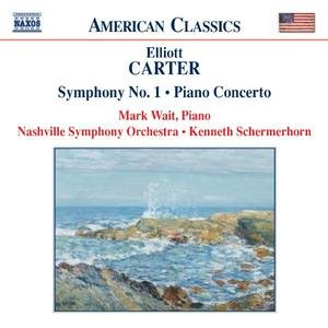Image for 'CARTER: Piano Concerto / Symphony No. 1 / Holiday Overture'