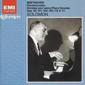 Image for 'Solomon plays Beethoven'