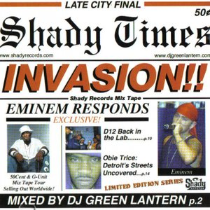 Image for 'Invasion: Shady Records Mixtape'