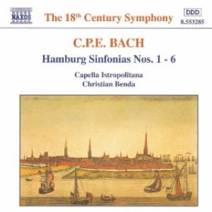 Image for 'BACH, C.P.E.: Hamburg Sinfonias Nos. 1 - 6, Wq. 182'