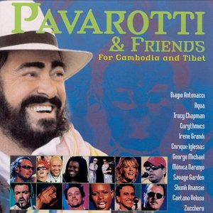 Image pour 'Pavarotti & Friends for Cambodia and Tibet'