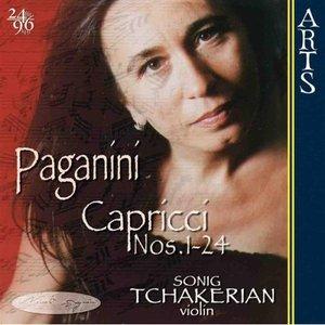 Image for 'Paganini: 24 Capricci op. 1 for solo Violin'