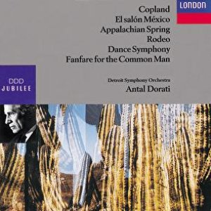 Image for 'Copland: Fanfare; Dance Symphony; 4 Dance Episodes from Rodeo; Appalachian Spring, etc.'
