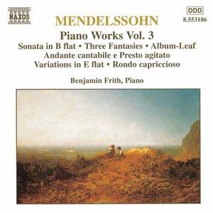 Image for 'Mendelssohn: Sonata in B Flat Major / Fantasies, Op. 16'