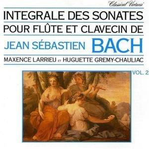 Image for 'Jean-Sébastien Bach - Intégrale Pour Flûte Et Clavecin Vol. 2'