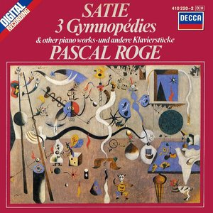 Bild för '3 Gymnopédies & Other Piano Works (Pascal Rogé)'