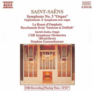 Image for 'SAINT-SAENS: Symphony No. 3 / Le Rouet d'Omphale'