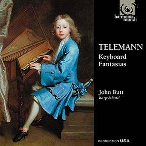 Image for 'Telemann: Keyboard Fantasias'