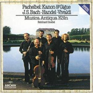 Image for 'Pachelbel: Canon and Gigue / Händel: Sonata G Major Op. 5 No. 4 / Vivaldi: Sonata D Minor, RV 63, 'La Follia' / Bach: Orchestersuite Nr. 2 H Moll BWV 1067'