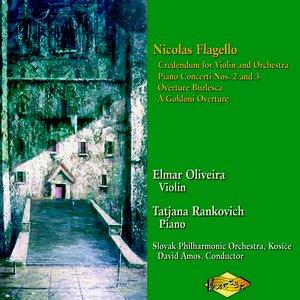 Image for 'Flagello: Piano Concertos Nos. 2 and 3 / Credendum'