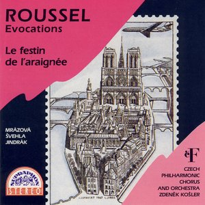 Image for 'Roussel: Evocations / Le festin de l´araignee'