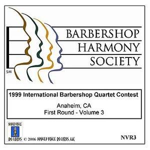 Imagem de '1999 International Barbershop Quartet Contest - First Round - Volume 3'