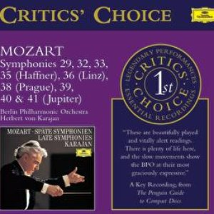 Image for 'Mozart: Late Symphonies'