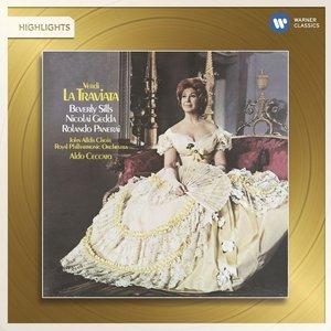 Image for 'Verdi: La Traviata (Highlights).'