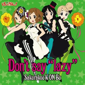 "Image for 'Don't say ""lazy""'"