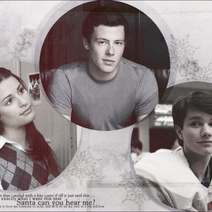 Image for 'Lea Michele, Cory Monteith & Chris Colfer'