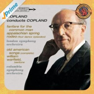 Immagine per 'Copland Conducts Copland - Expanded Edition (Fanfare for the Common Man, Appalachian Spring, Old American Songs (Complete), Rodeo: Four Dance Episodes)'