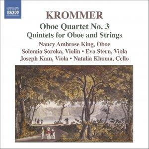 Image for 'KROMMER: Oboe Quartet No. 3 / Oboe Quintets Nos. 1-2'
