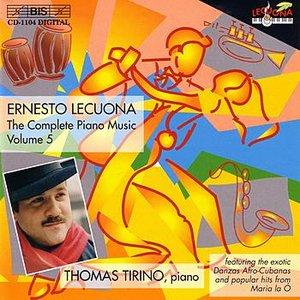 Image for 'LECUONA: The Complete Piano Music, Vol. 5'