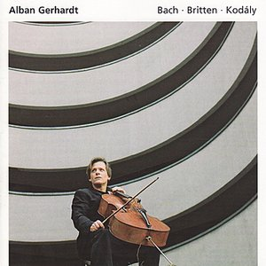 Image for 'Britten: Suite No. 1 - Bach: Suite No. 5 - Kodály: Sonata for Cello Solo'