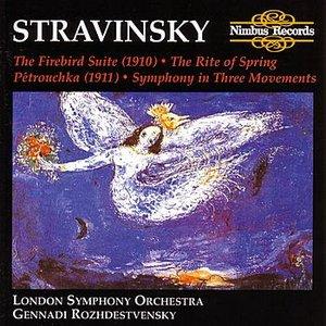 Image for 'The Firebird Suite - original version, 1910 -: Allegro-Infernal Dance'
