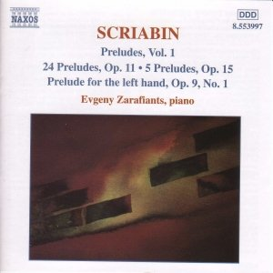 'SCRIABIN: Preludes, Vol 1'の画像