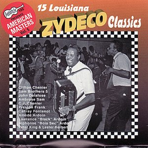 """15 Louisiana Zydeco Classics""的封面"