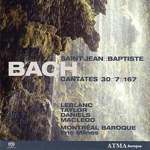 """Bild für 'BACH - Cantatas 7, 30, 167 """"St. John the Baptist""""'"""