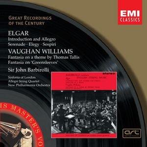 Bild für 'Elgar: Introduction and Allegro, Serenade, Elegy, Sospiri/Vaughan Williams: Fantasia on a theme by Thomas Tallis, Fantasia on Greensleeves'