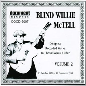 Image for 'Blind Willie McTell Vol. 2 (1931 - 1933)'