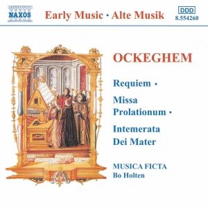 Image for 'OCKEGHEM: Requiem / Missa Prolationum'