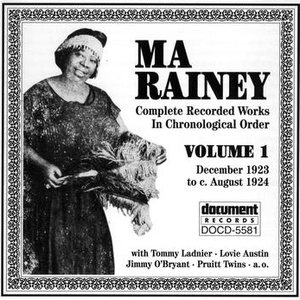 Image for 'Ma Rainey Vol. 1 (1923-1924)'