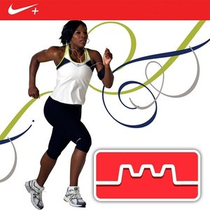 Image pour 'Serena Williams Interval Run Nike+ (Continuous Mix)'