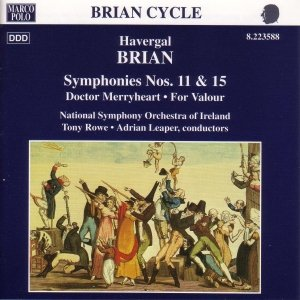 Image for 'BRIAN: Symphonies Nos. 11 and 15'