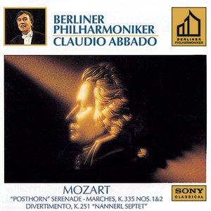 Image for 'Mozart:  Marches: K. 335, NO. 1 & 2; Serenade K. 320; Divertimento K. 251'