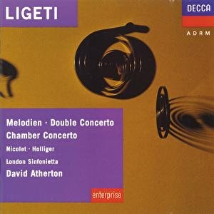 Image for 'Ligeti: Melodien; Double Concerto; Chamber Concerto etc.'