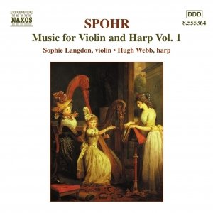 Image for 'SPOHR: Music for Violin and Harp, Vol.  1'