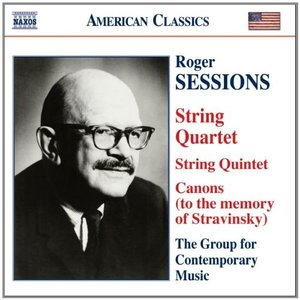 Immagine per 'SESSIONS: String Quintet / String Quartet No. 1 / Canons (to the memory of Igor Stravinsky)'
