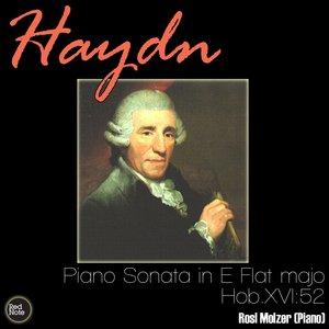 Image for 'Haydn: Piano Sonata in E Flat major, Hob.XVI:52'
