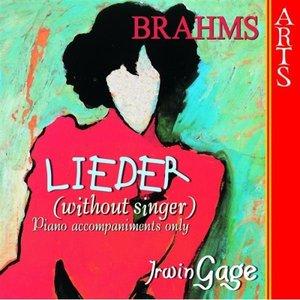 Image for 'Brahms: Lieder without Singer'