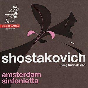 Image for 'Shostakovich: String Quartets 2 & 4'