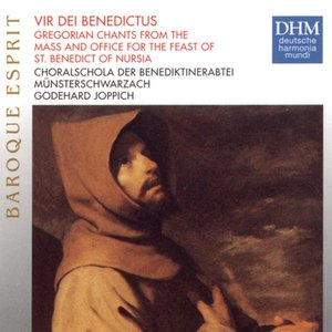 Image for 'Vir Dei Benedictus (Gregorian Chants from the Mass and Office for the Feast of St. Benedict of Nursia)/Hymnus: Laudibus cives'